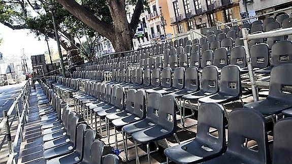 La Agrupación de Cofradías ofrece a los abonados de sillas y ...